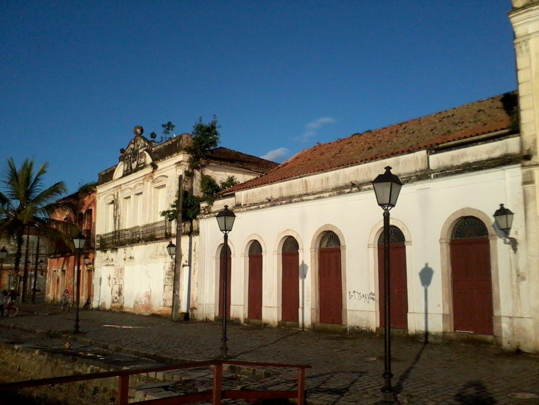 Casas históricas Paranagua Brasil