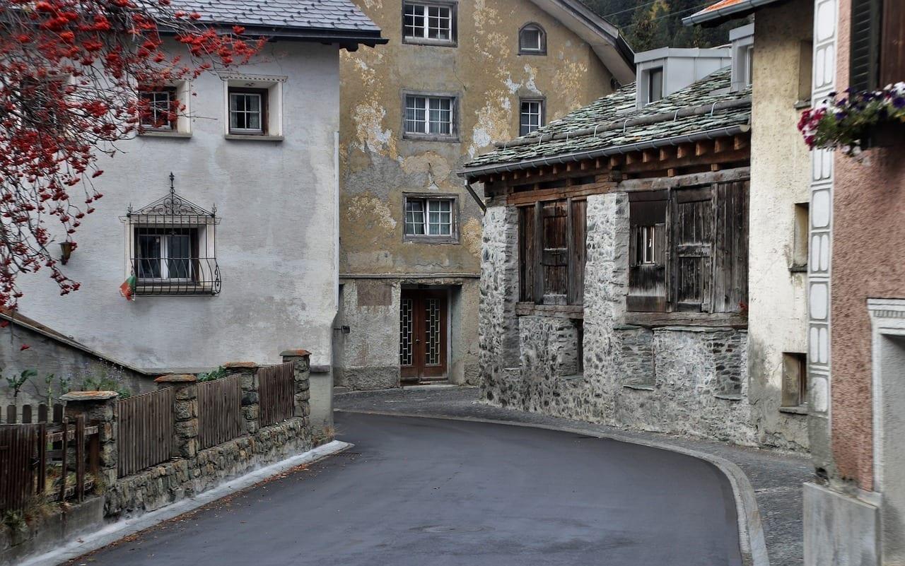 Casas Viejo Las Paredes De La Portugal