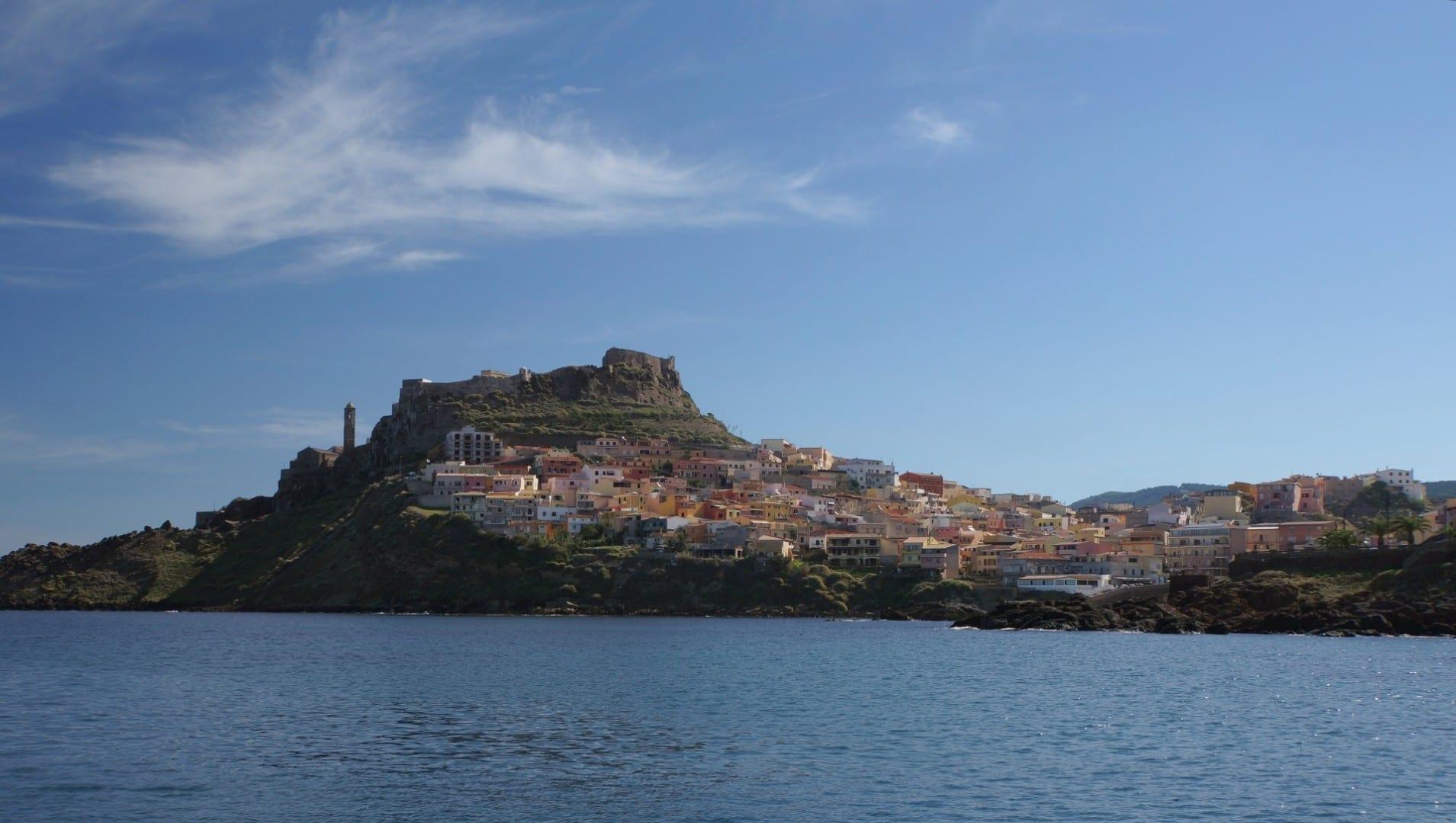 Castelsardo desde el mar Castelsardo Italia