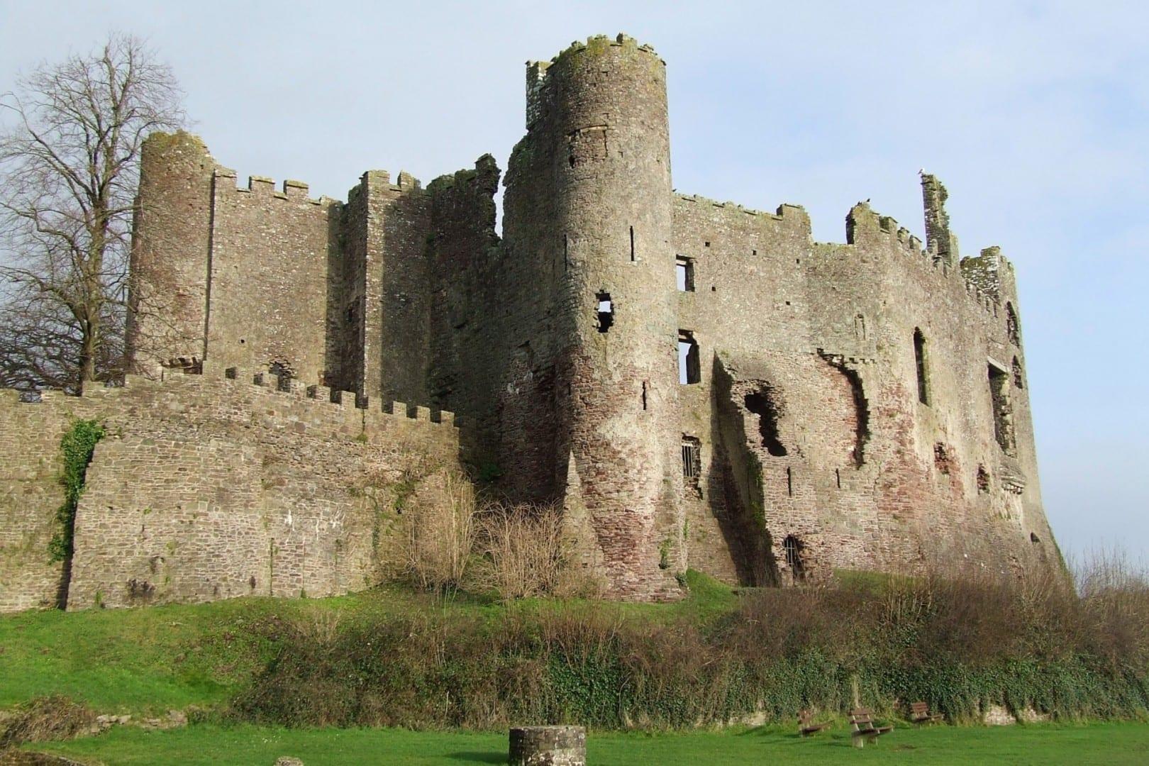 Castillo de Laugharne Laugharne Reino Unido