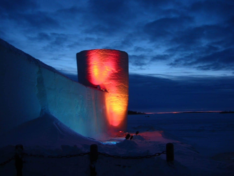 Castillo de Nieve de Kemi Kemi Finlandia