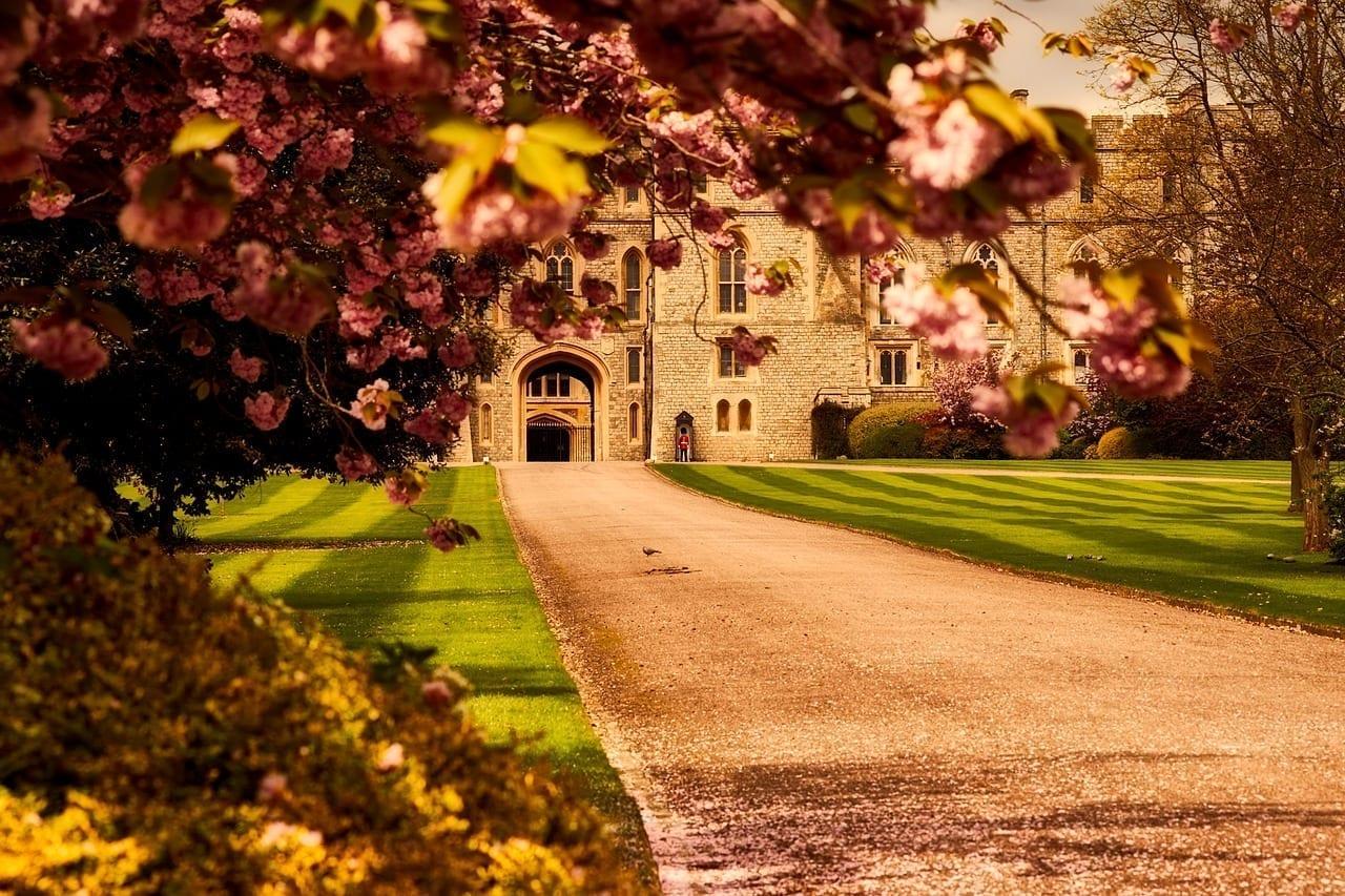 Castillo De Windsor Hito Histórico Reino Unido