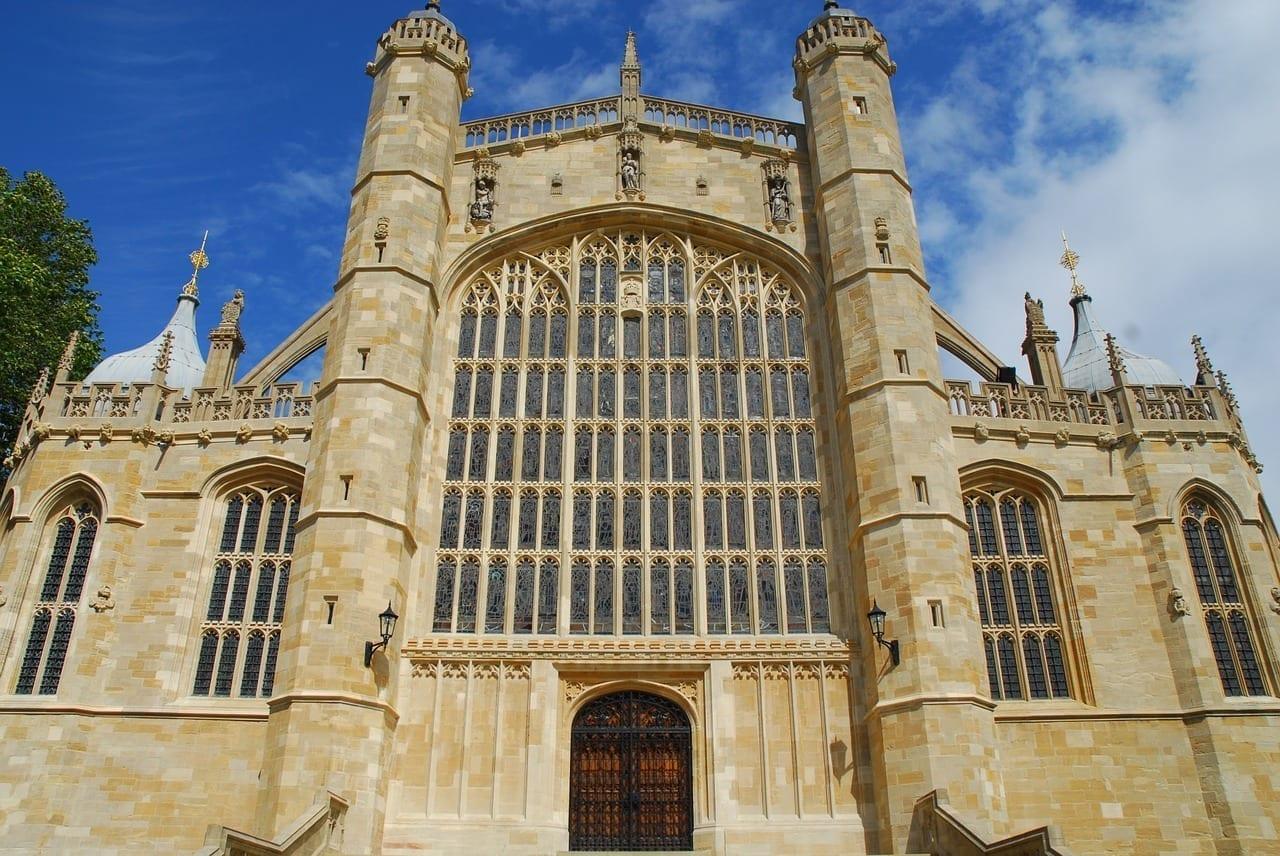 Castillo De Windsor St Georges Medieval Reino Unido