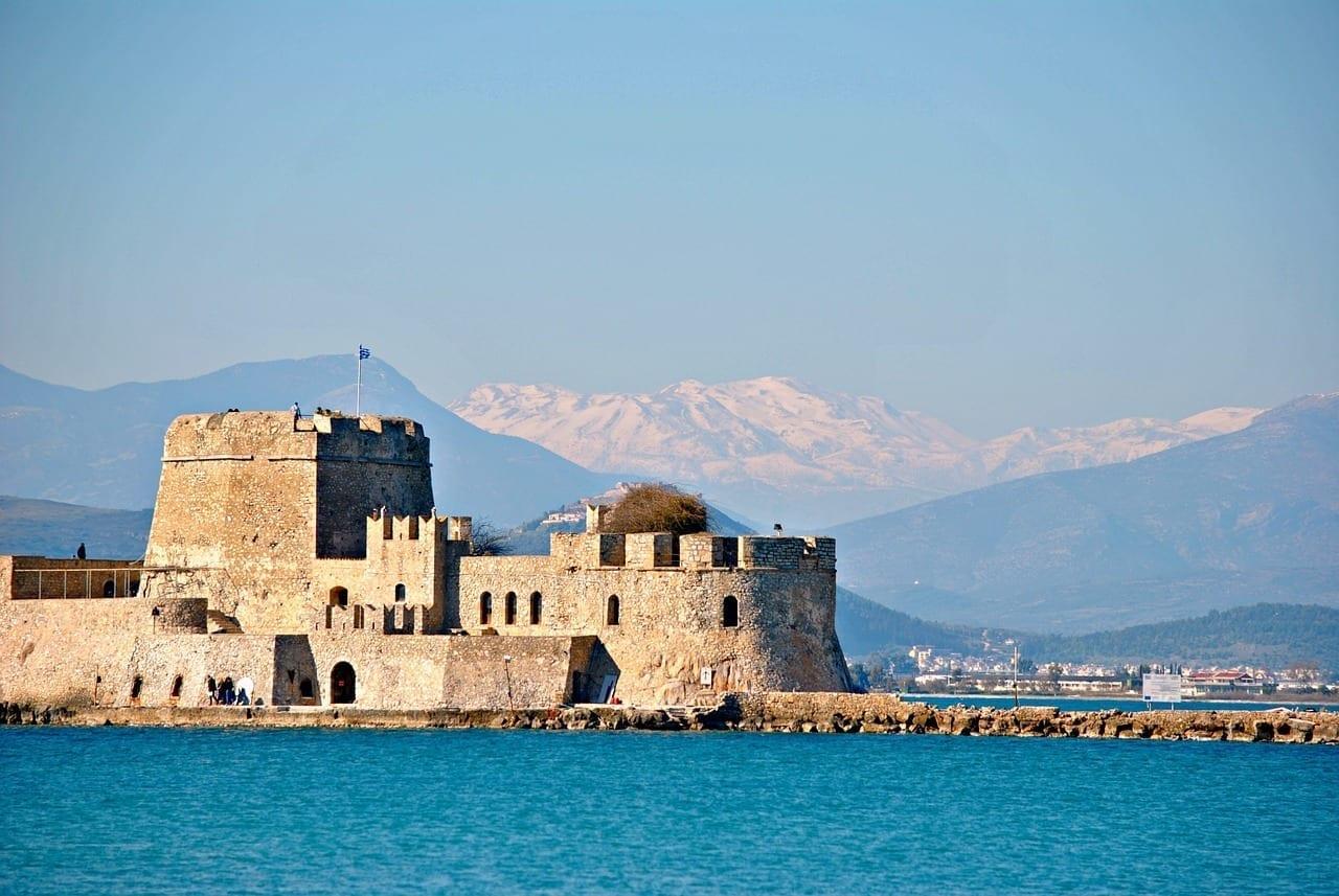 Castillo Grecia Nauplia Grecia