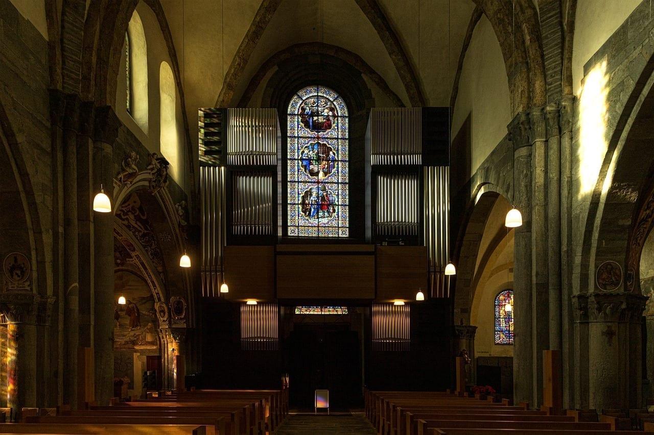 Catedral Chur Vista Interior Suiza