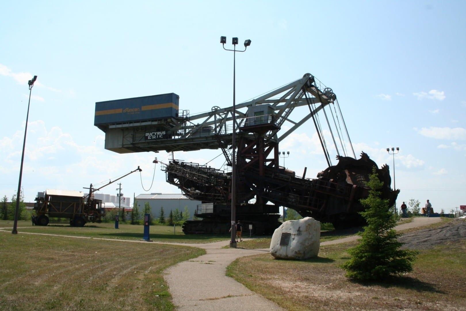 Centro de Descubrimiento de Arenas Petrolíferas Fort McMurray Canadá