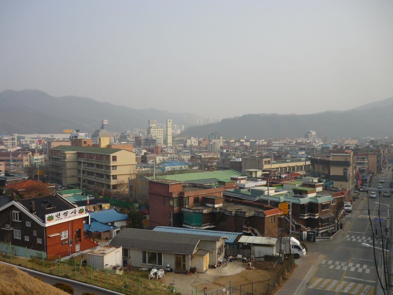 Centro de la ciudad de Gwangju Gwangju Corea del Sur