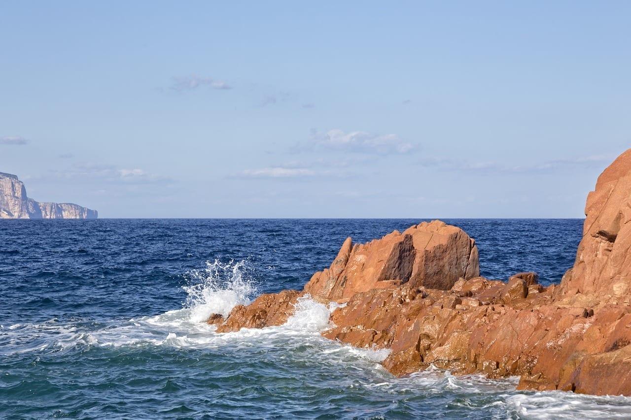 Cerdeña Arbatax Rocas Rojas Italia