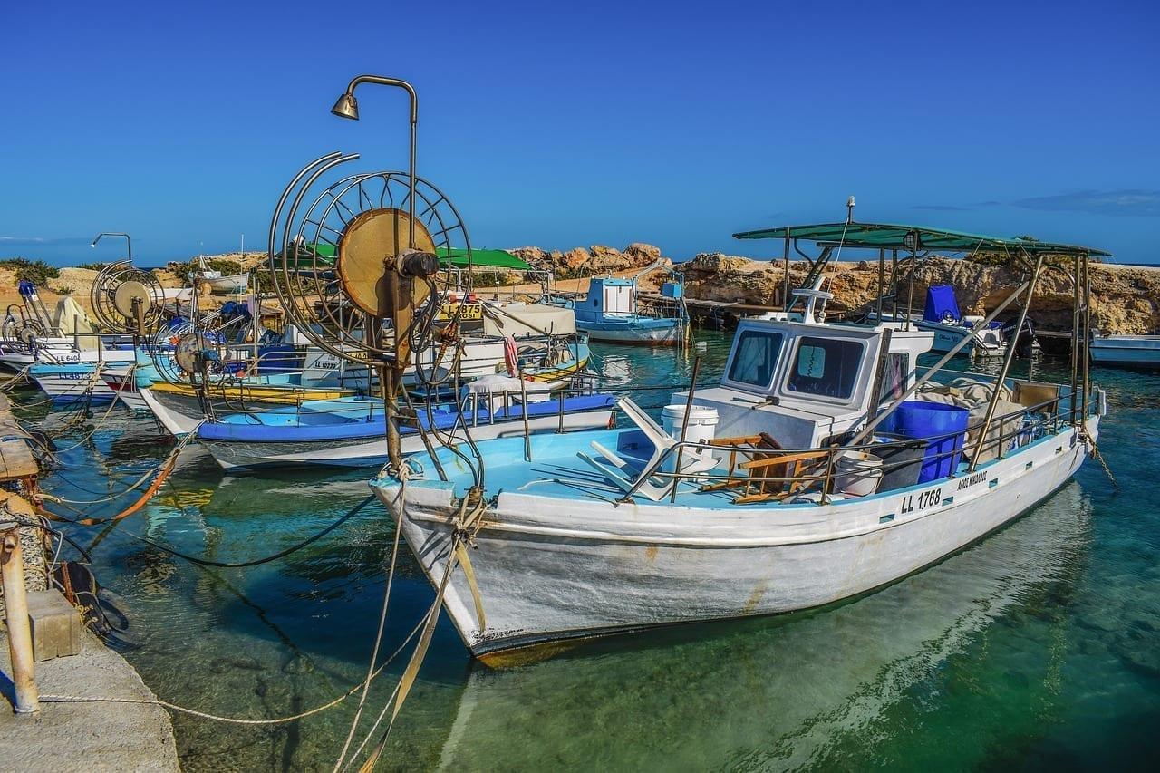 Chipre Protaras Refugio De Pesca Chipre
