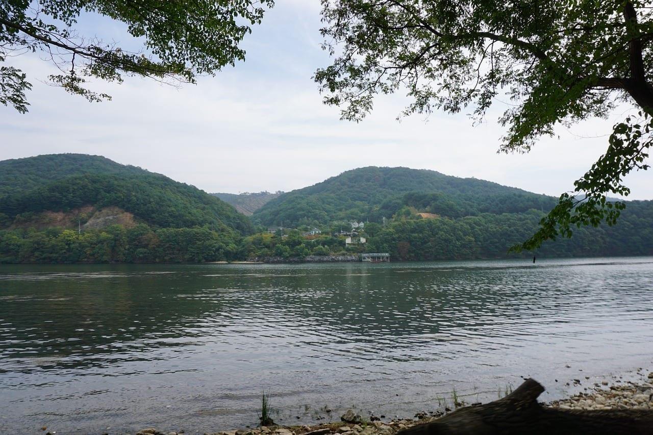 Chuncheon Gangwon Río Corea del Sur