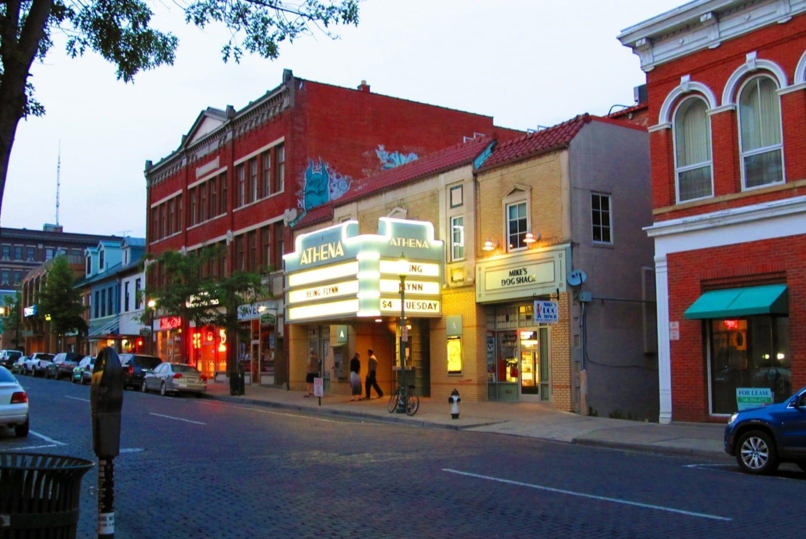 Cine Athena Athens OH Estados Unidos