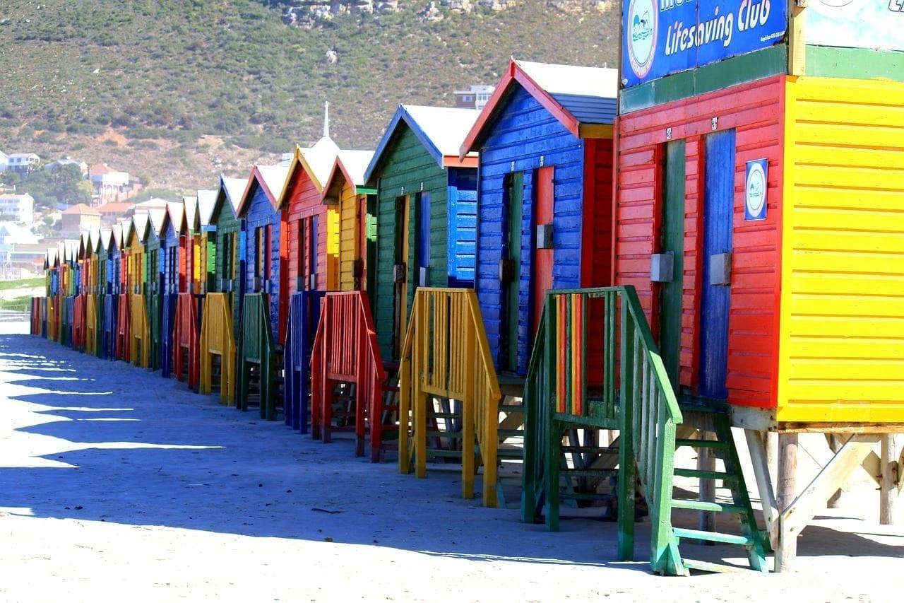 Ciudad Del Cabo Sudáfrica Muizenberg República de Sudáfrica