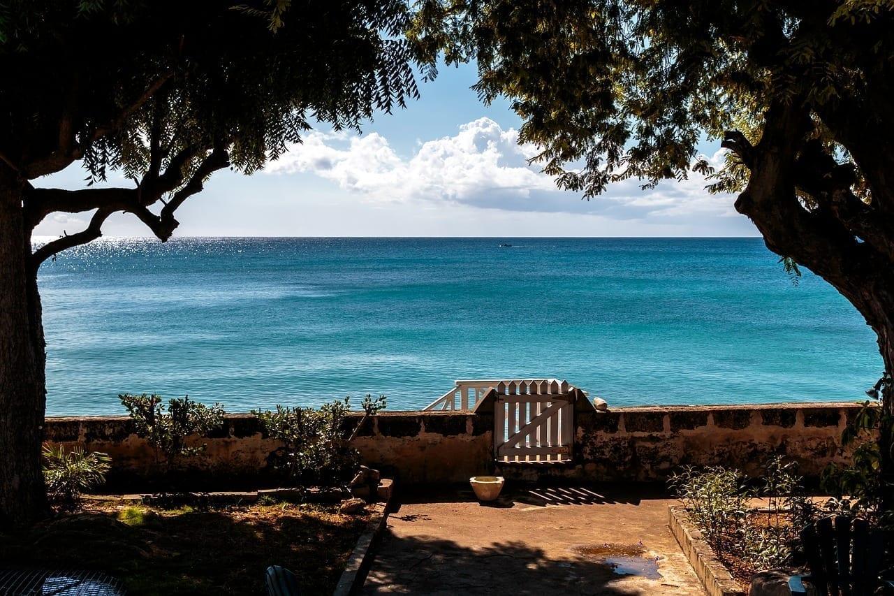 Clearwater Villa Con Vista Al Océano Barbados Océano Atlántico Barbados
