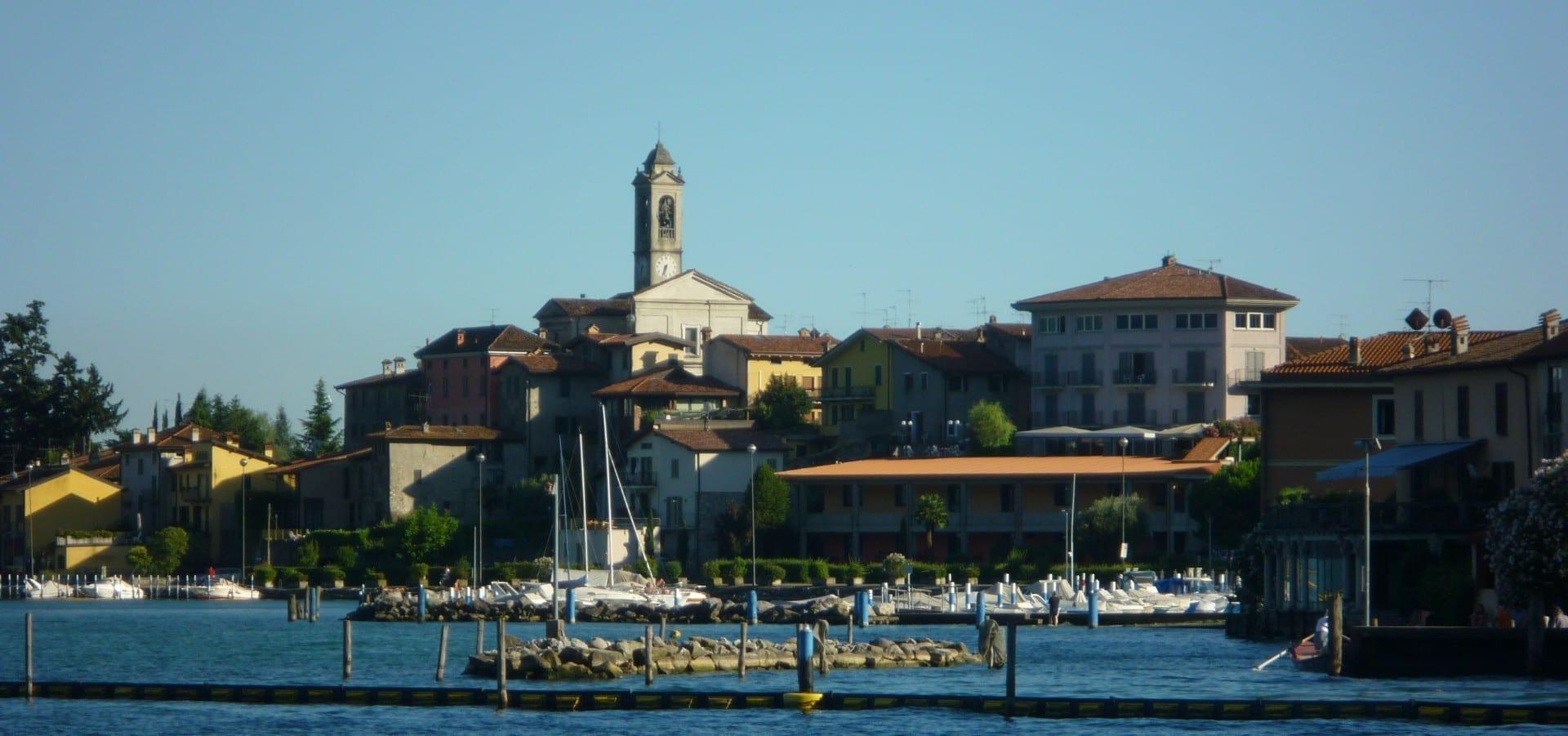 Clusane Lago Iseo Italia