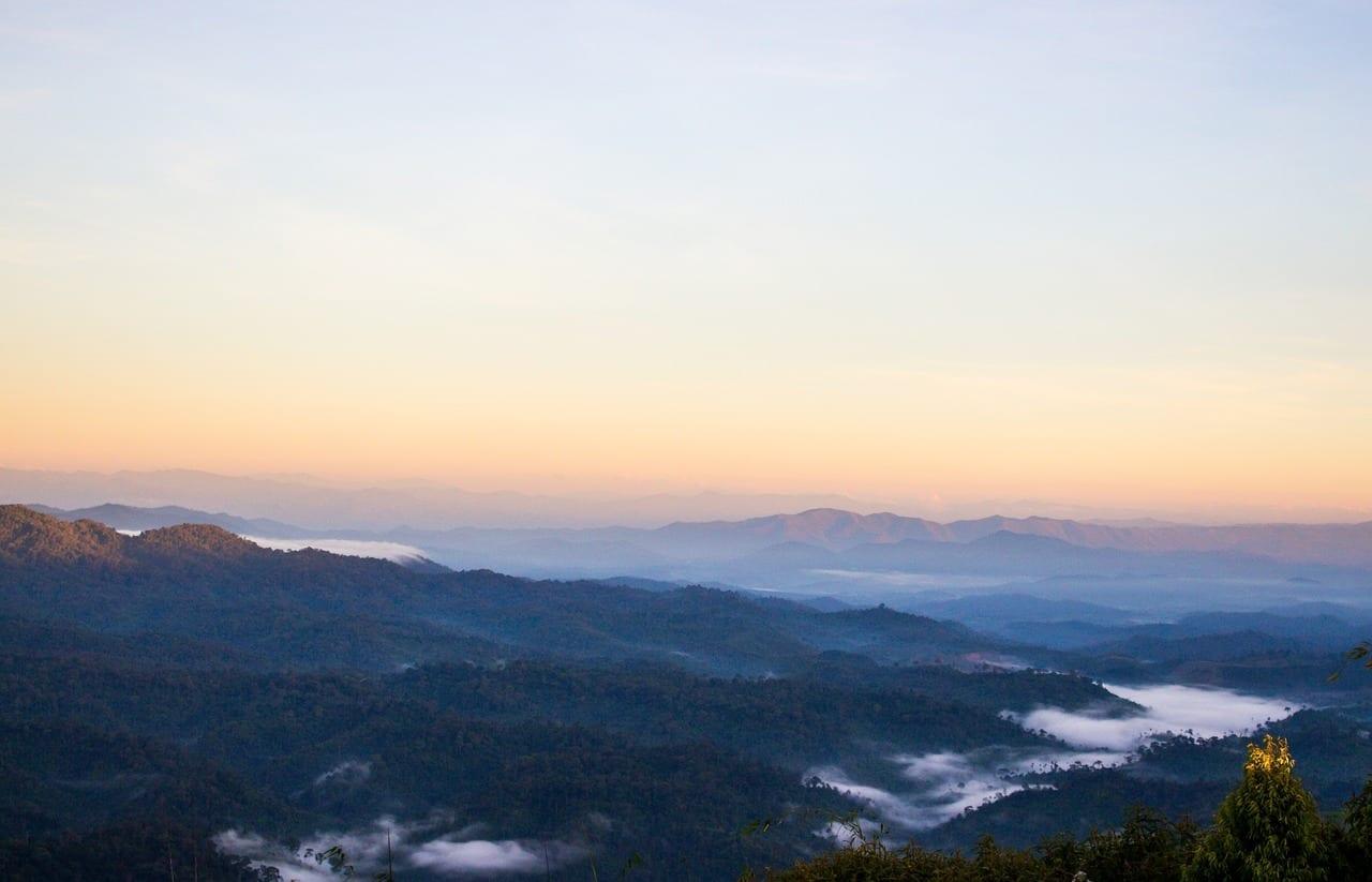 Cod Solo Montañas Phitsanulok Tailandia
