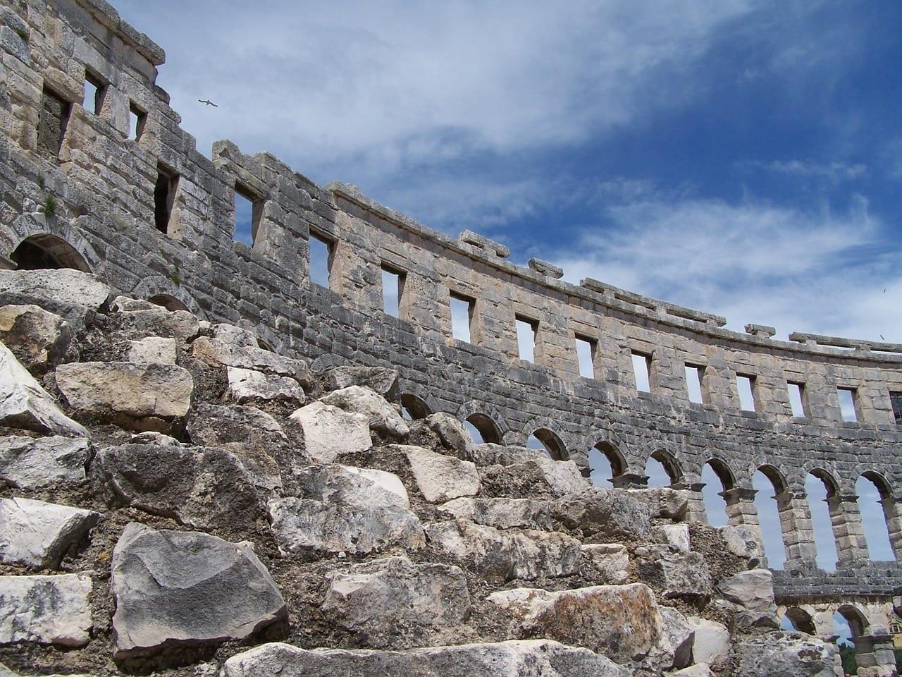 Coliseo Pula Croacia Italia