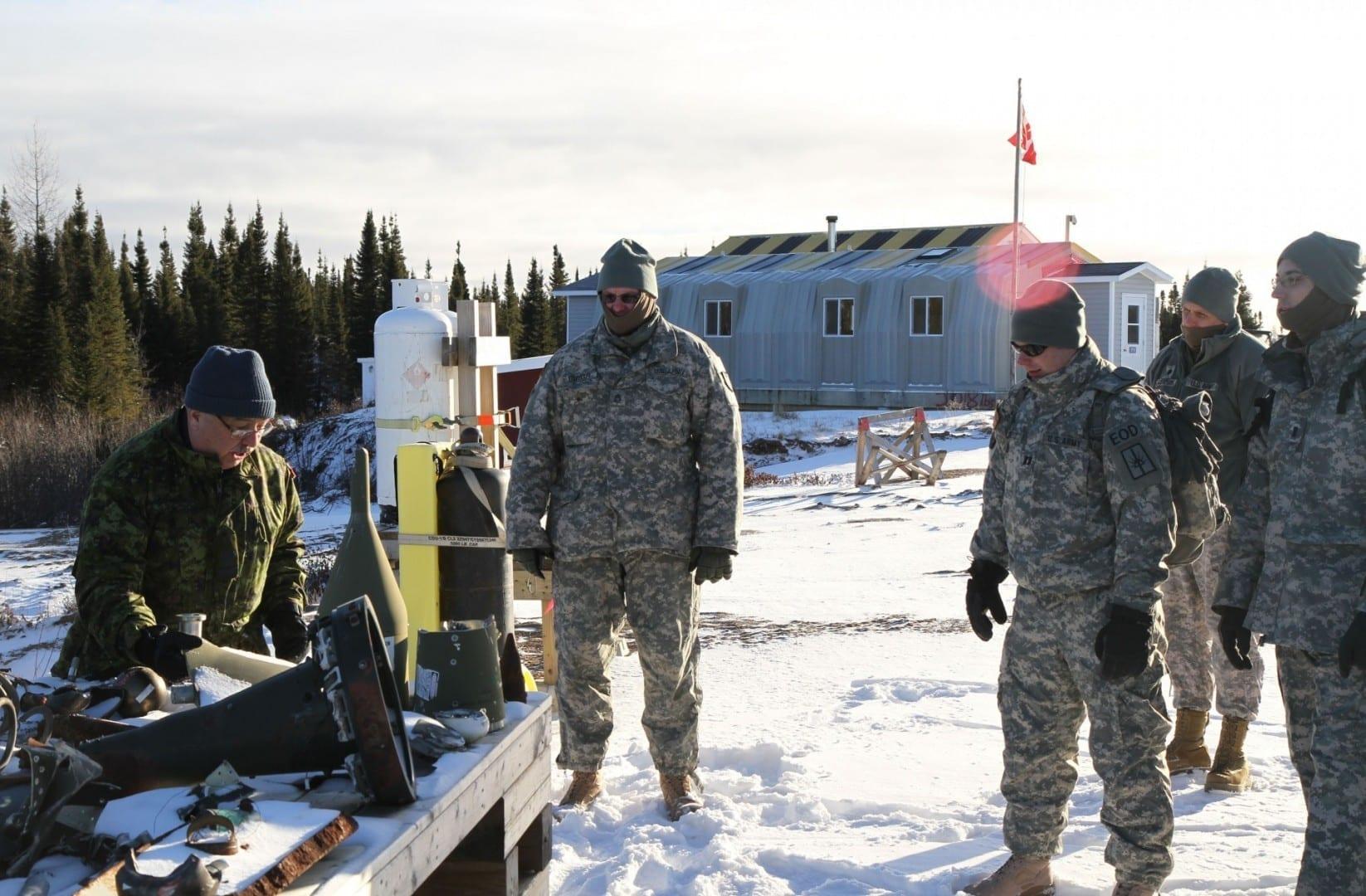 Complejo de Entrenamiento de Operaciones Austeras Happy Valley - Goose Bay Canadá