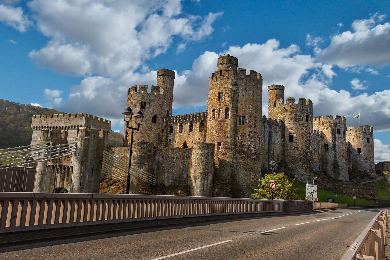 Conway Castle Llundudno País De Gales Estados Unidos