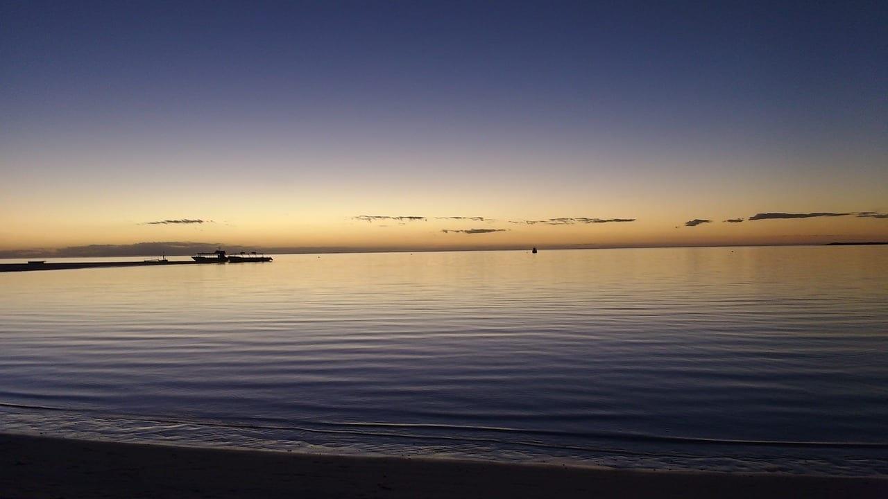 Coral Bay Australia Puesta De Sol Australia