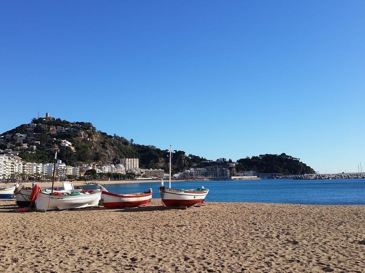 Costa Brava Barca Playa España