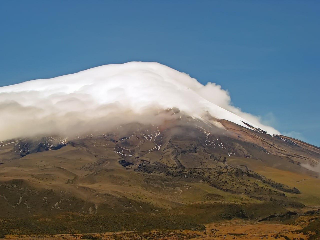 Cotopaxi Cumbre Pico Ecuador