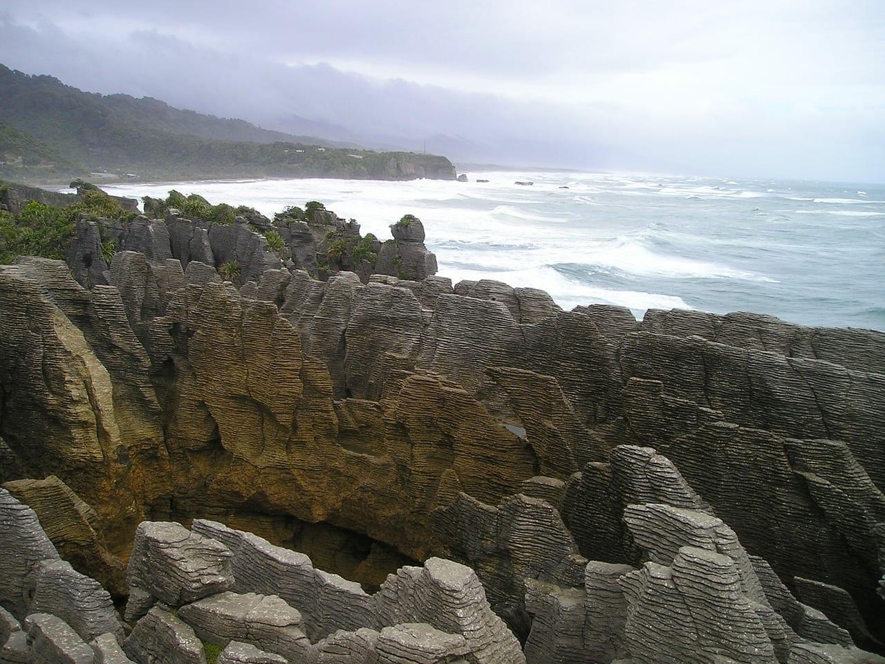 Crepe Piedras Punakaiki Nueva Zelanda
