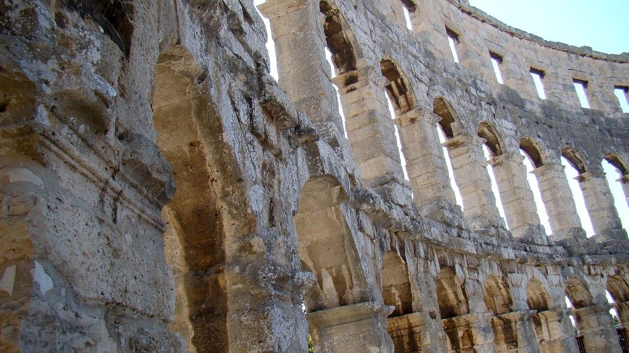 Croacia Pula El Anfiteatro Italia