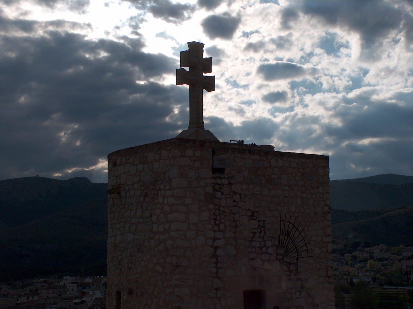 Cruz en el Santuario de la Santísima y Vera Cruz Caravaca de la Cruz España