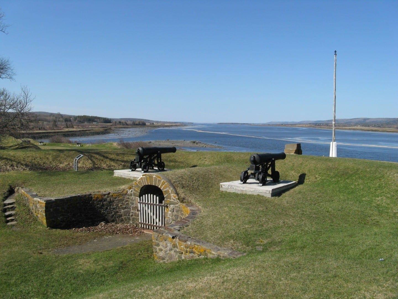 Cuenca de Annapolis en Fort Anne Annapolis Royal Canadá