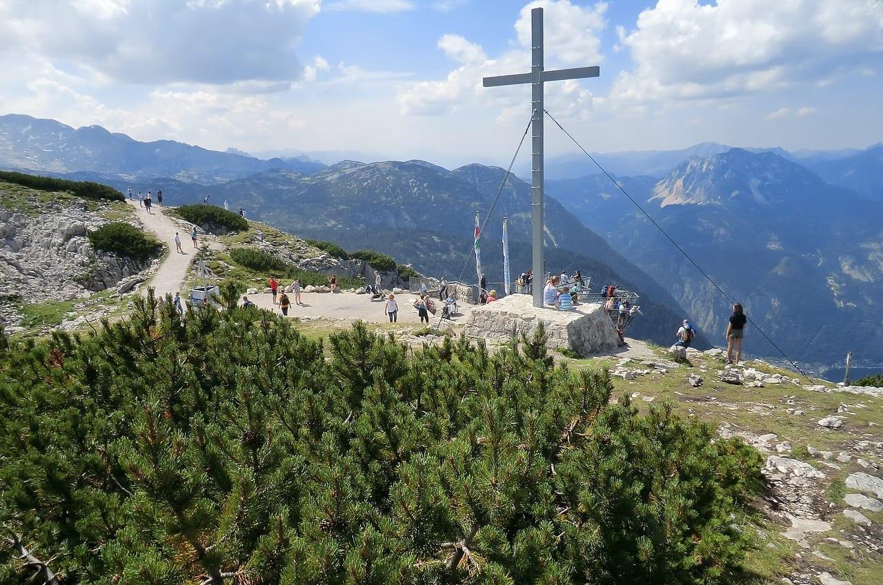 De Dachstein-krippenstein Salzkammergut Austria Austria