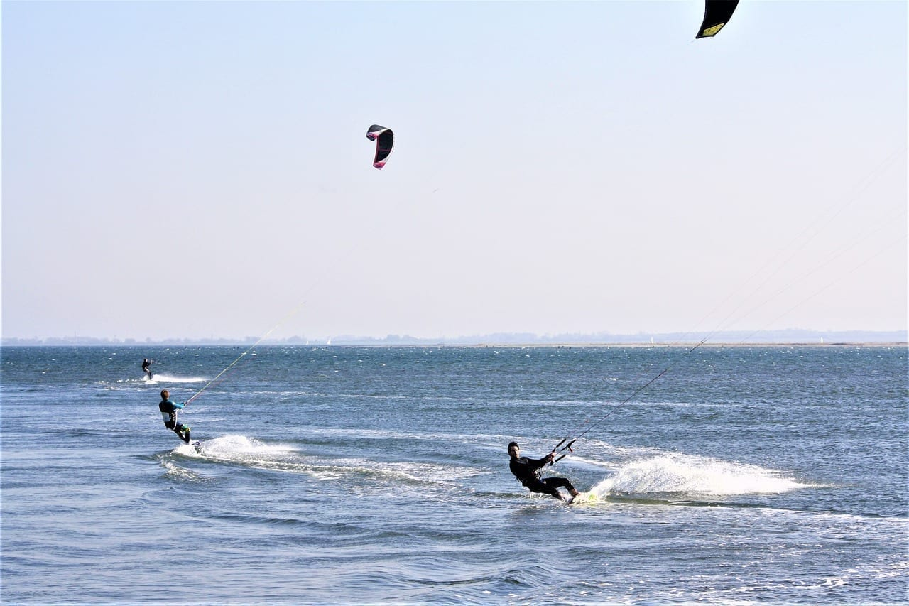 Deportes Acuáticos Fehmarn Kite Surf Alemania