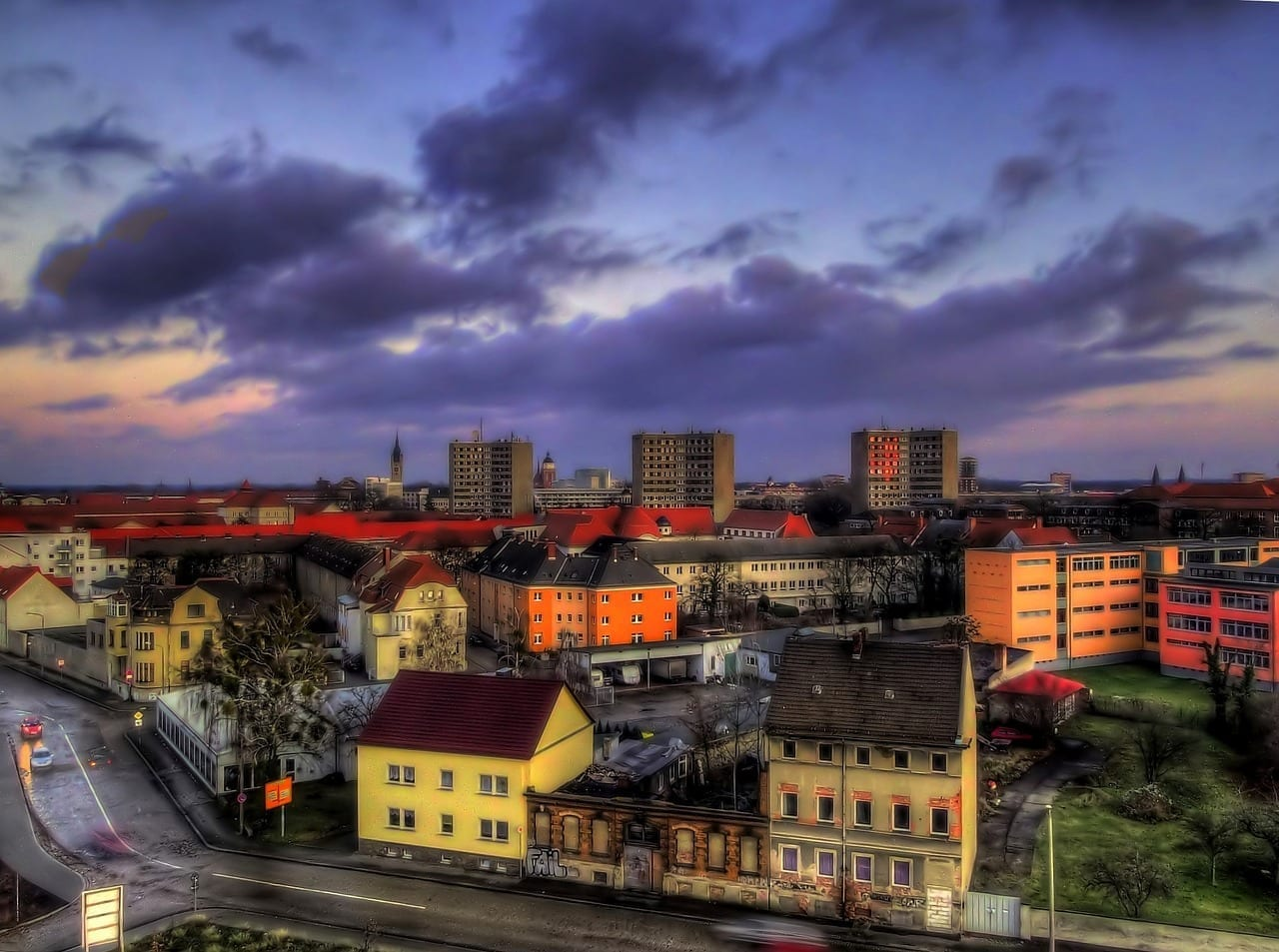 Dessau Alemania Horizonte Alemania