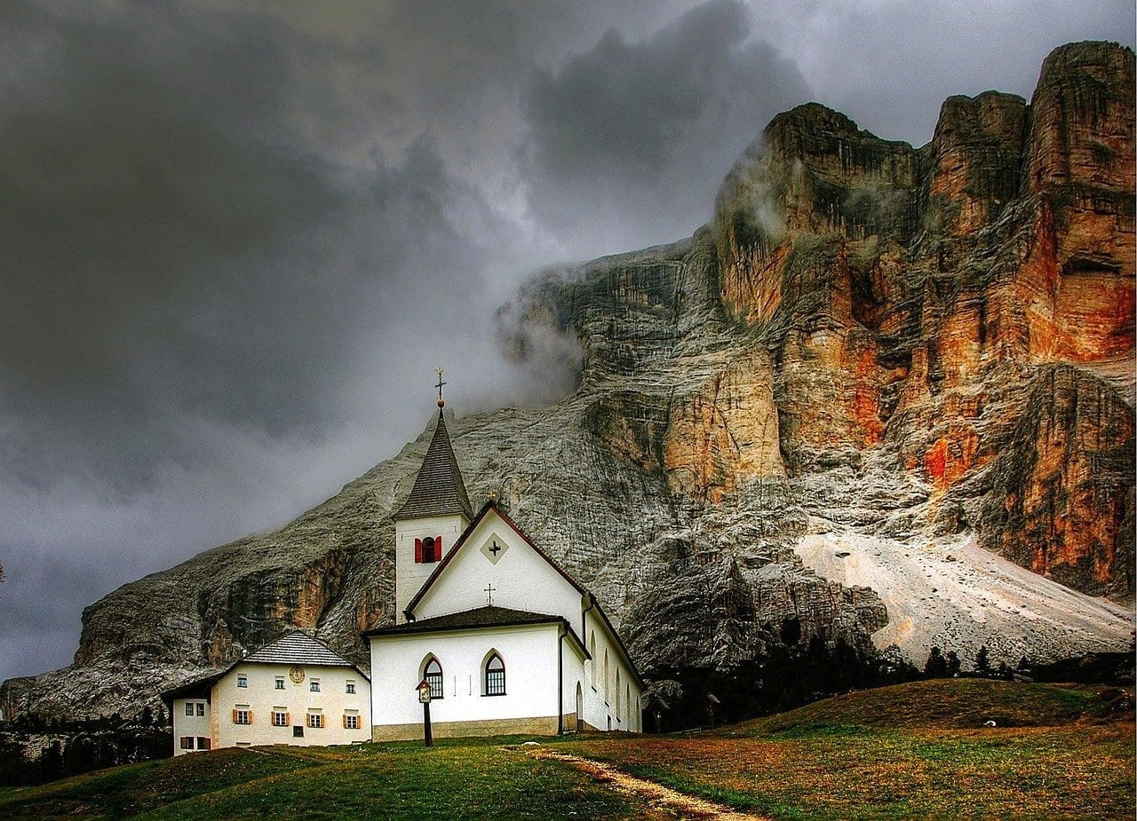 Dolomitas Alta Badia La Naturaleza Italia