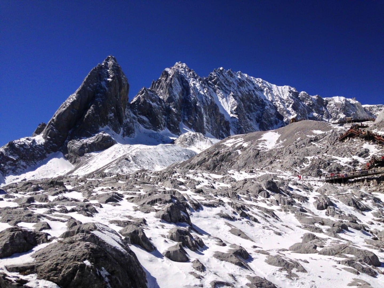 Dragón de Jade Montaña de Nieve Lijian China