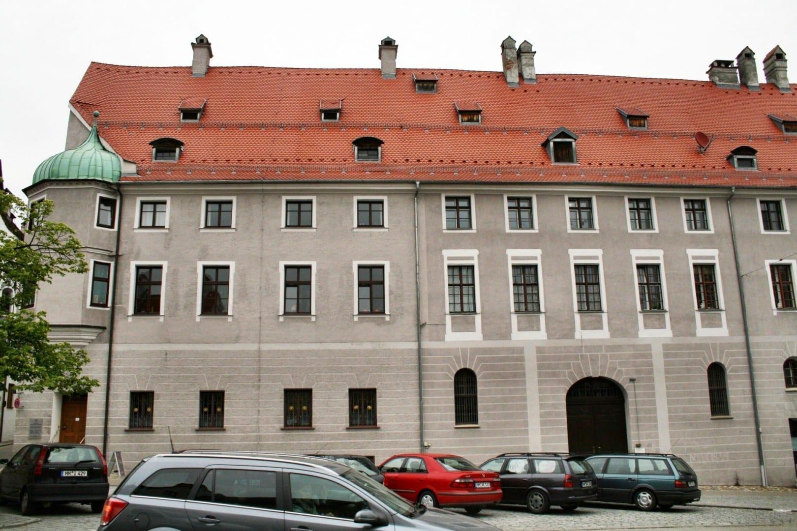 Edificio Fugger Memmingen Alemania