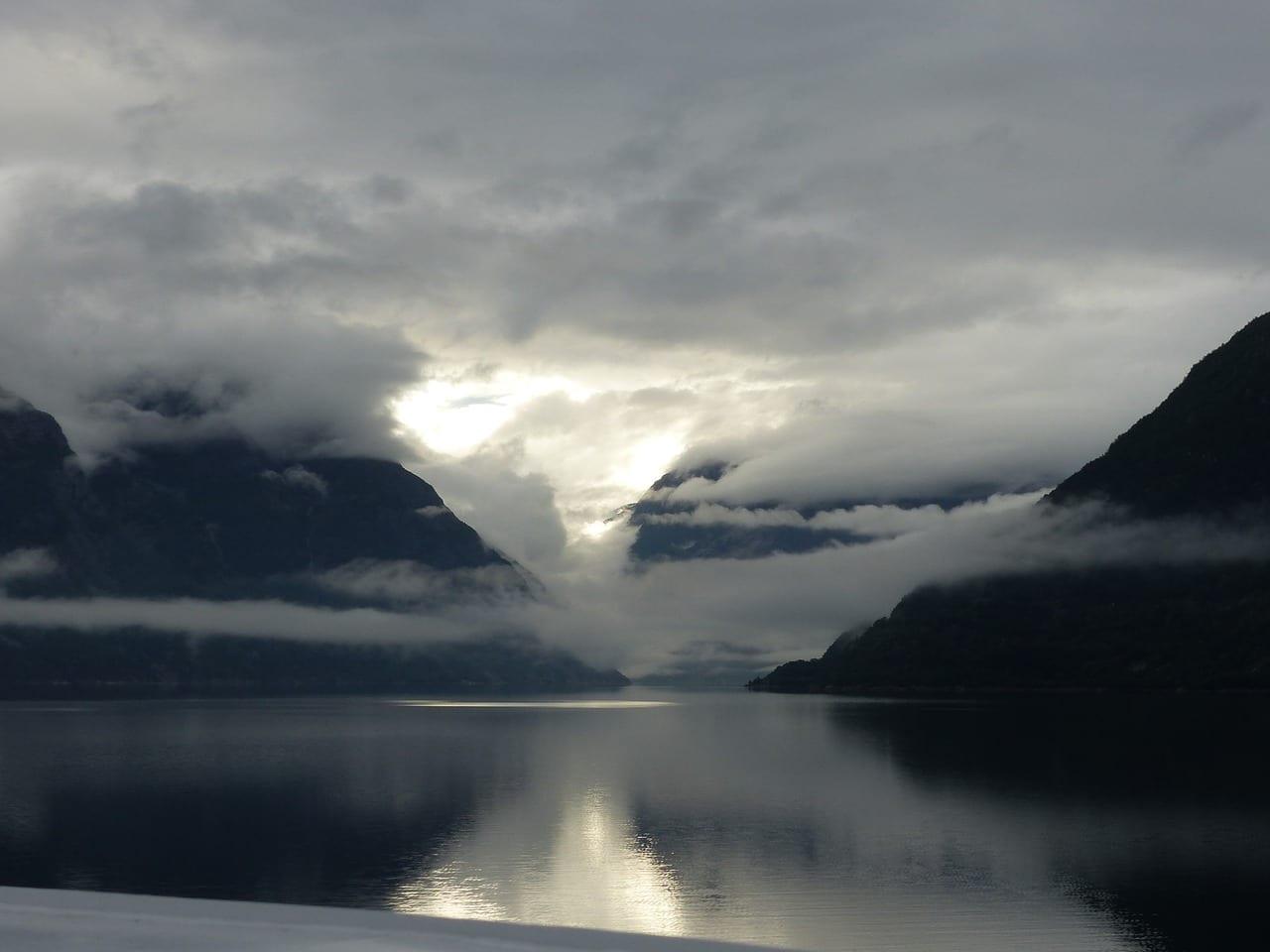 Eidfjord Noruega Fiordos Noruega