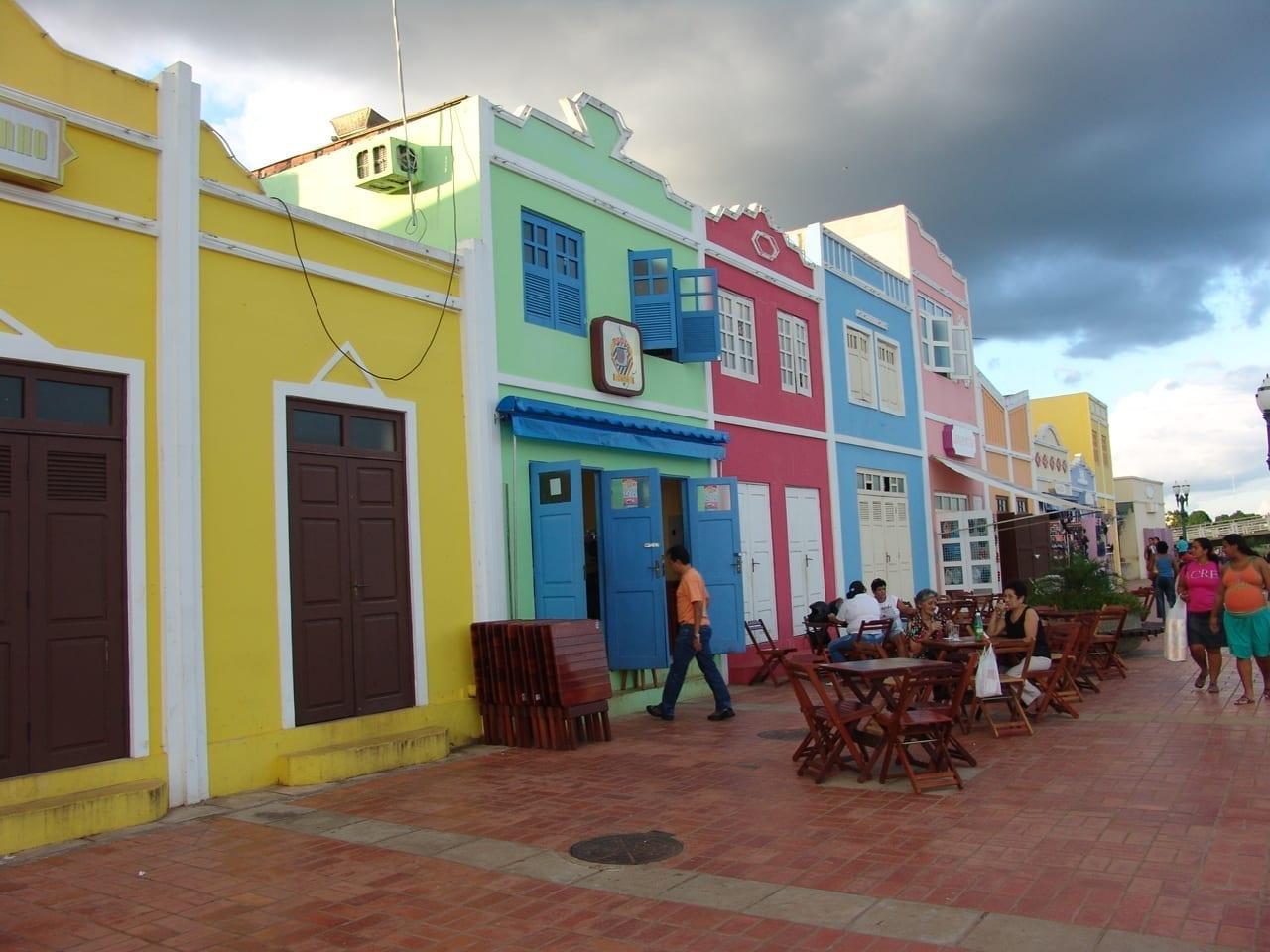 El barrio de Gameleira Rio Branco Brasil