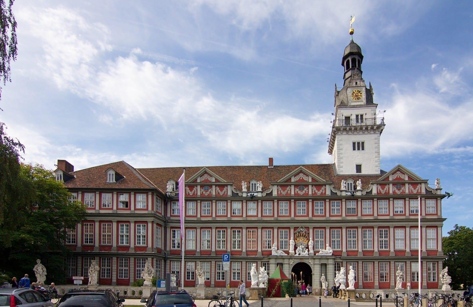 El castillo barroco de Wolfenbüttel Wolfenbüttel Alemania