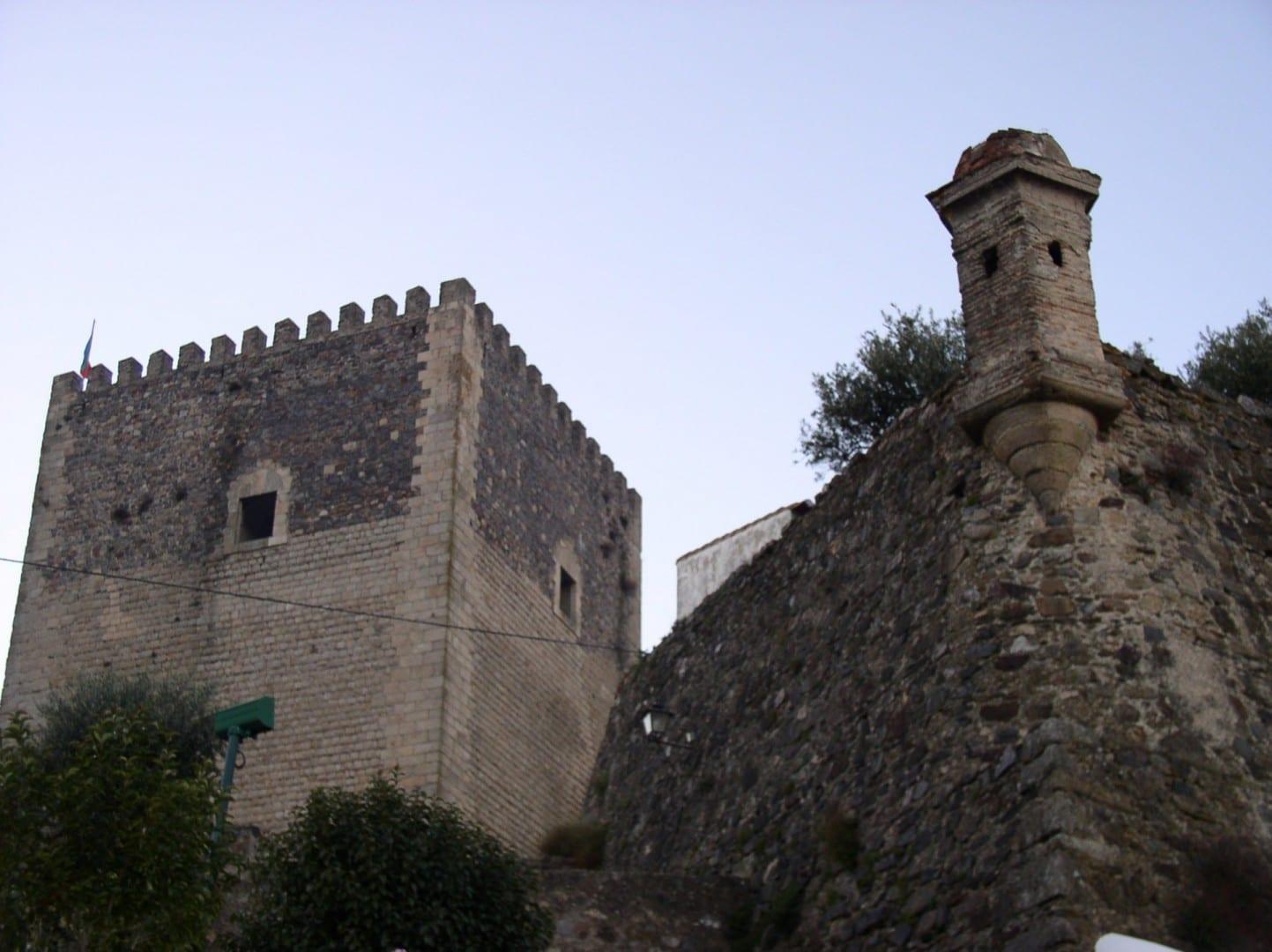 El castillo Castelo de Vide Portugal