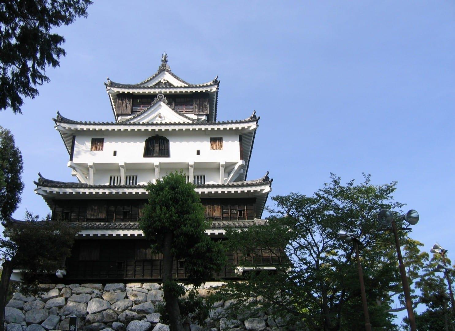 El castillo de Iwakuni Iwakuni Japón