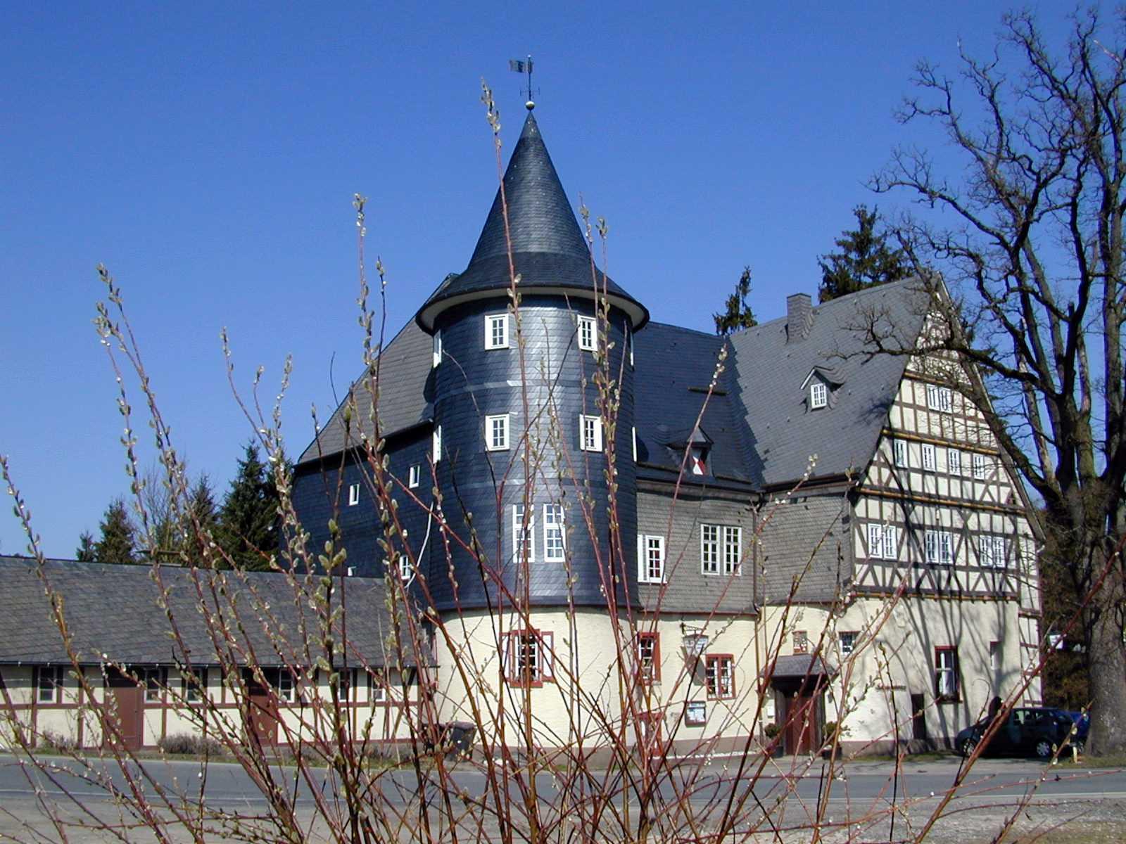 El castillo de Junkernhees Siegen Alemania