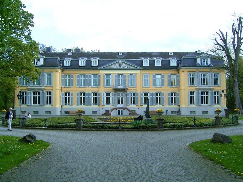 El castillo de Morsbroich Leverkusen Alemania