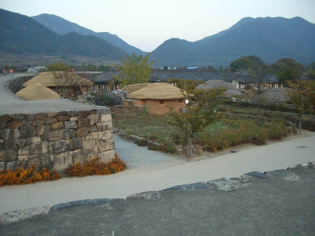 El castillo de Naganepseong Rebelión Yeosu-Suncheon Corea del Sur