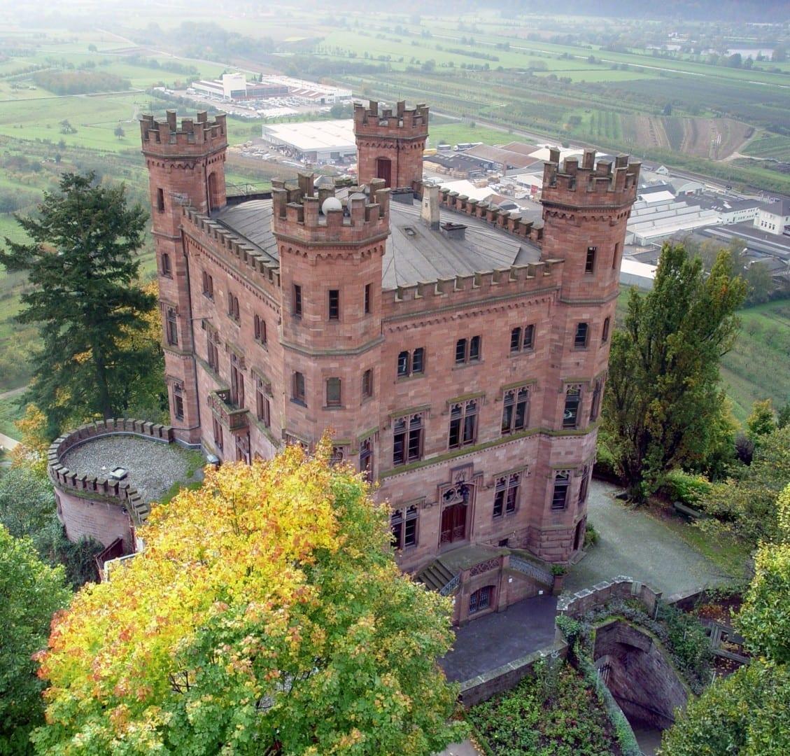 El castillo de Ortenberg cerca de Offenburg Offenburg Alemania