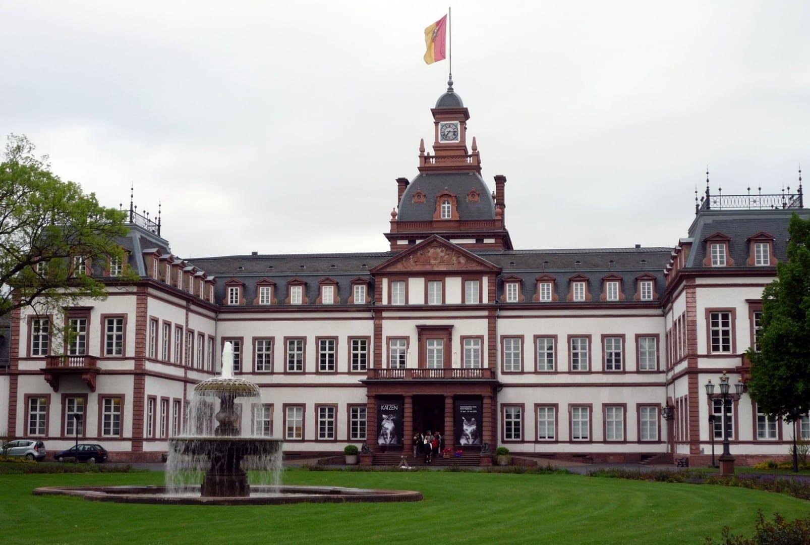 El castillo de Philippsruhe en las afueras de Hanau Hanau Alemania