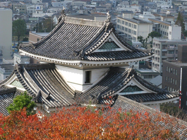 El castillo de Wakayama Wakayama Japón
