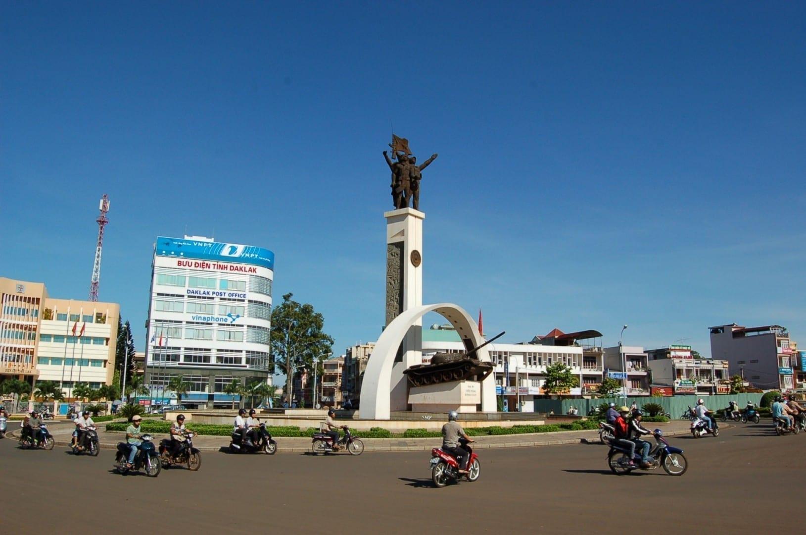 El centro de la ciudad Buon Ma Thuot Vietnam