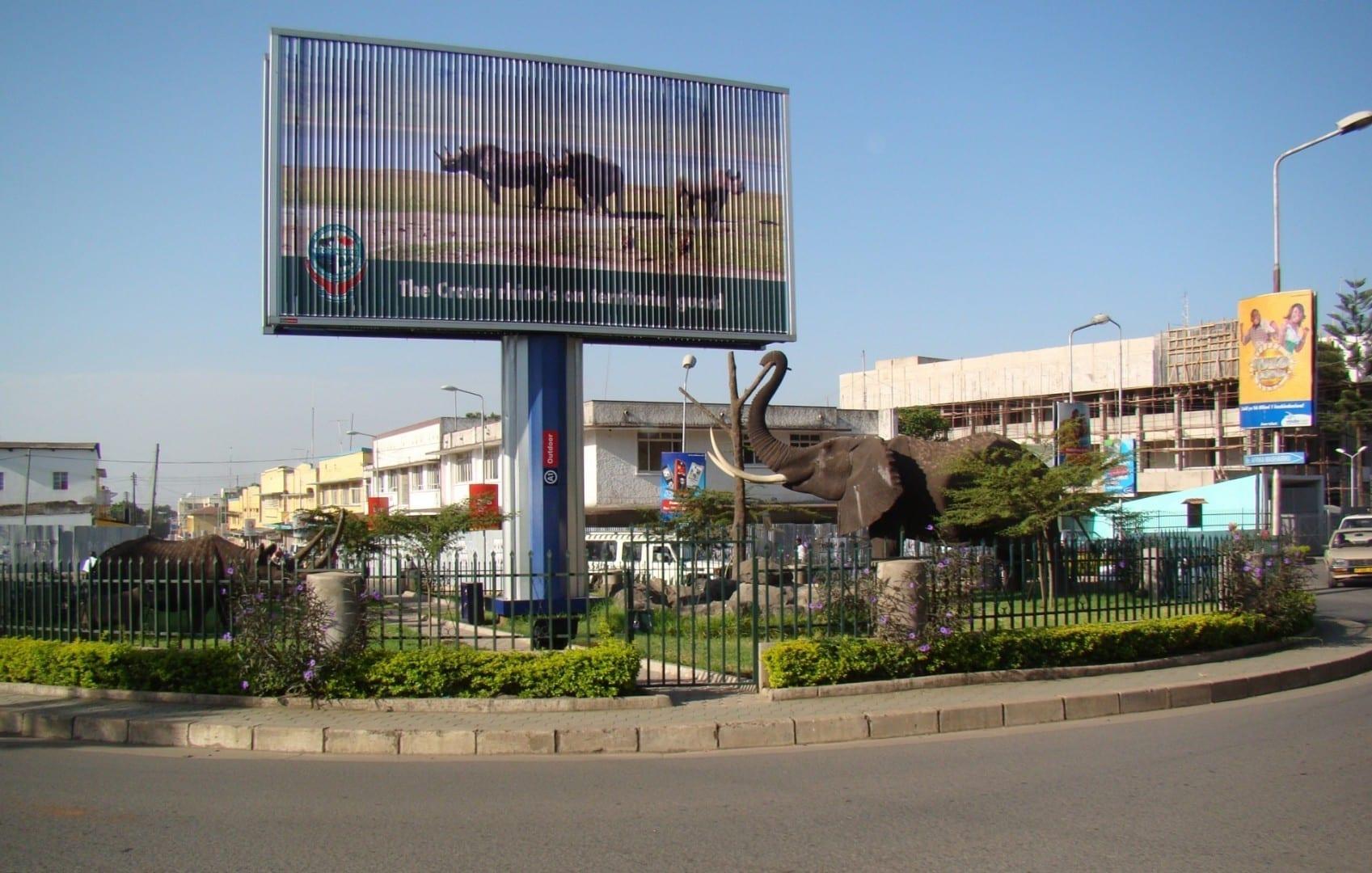El centro de la ciudad de Arusha Arusha Tanzania
