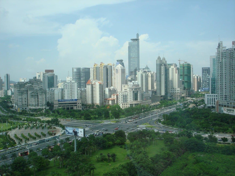 El centro de Nanning Nanning China