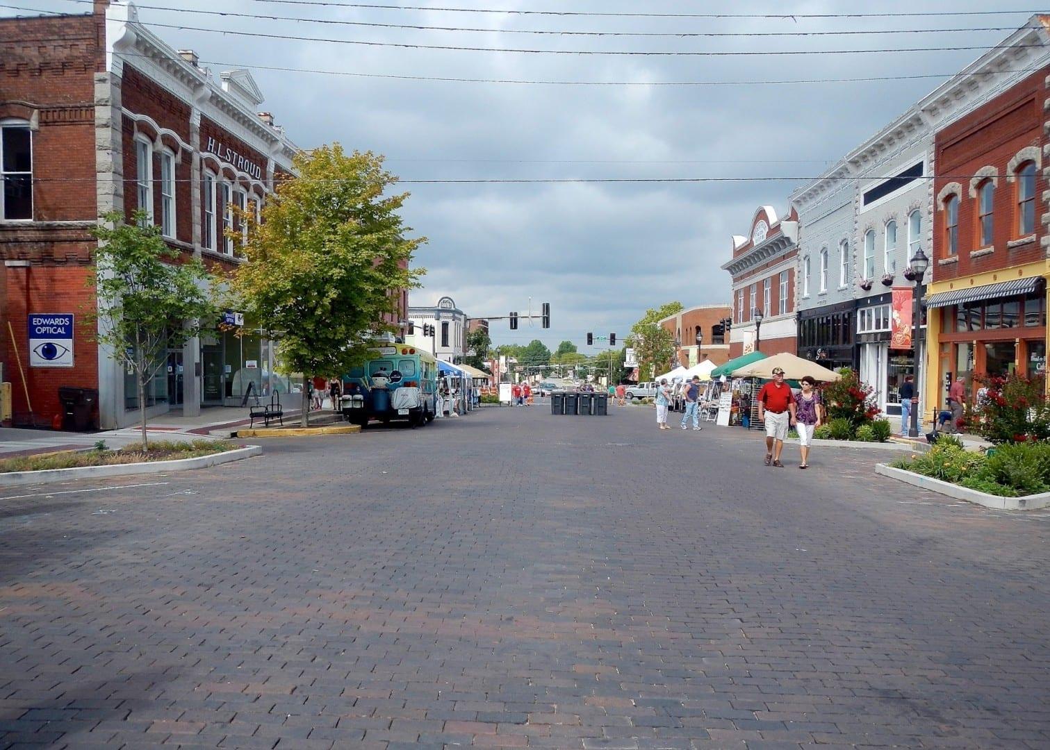 El centro histórico de Rogers Rogers AR Estados Unidos
